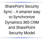 SharePoint Security Sync