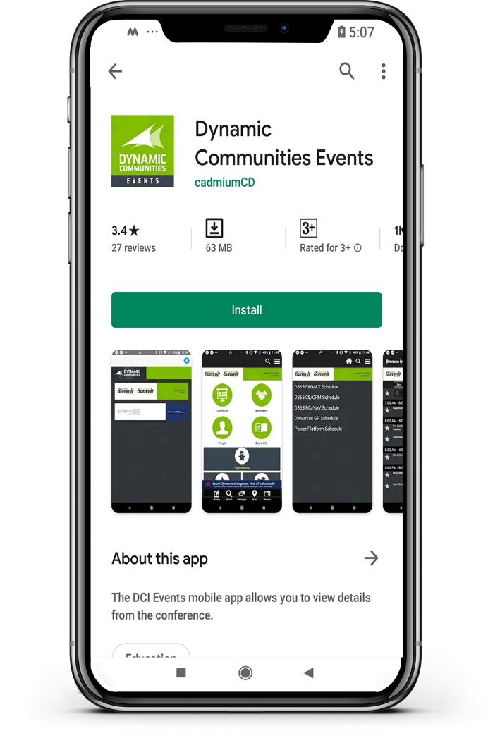 User Group Summit 2019 Mobile App
