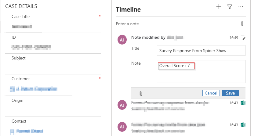 How to Send Survey and Get Response in CRM using MS Forms