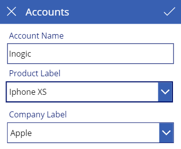 Cascading Two dropdowns in PowerApps