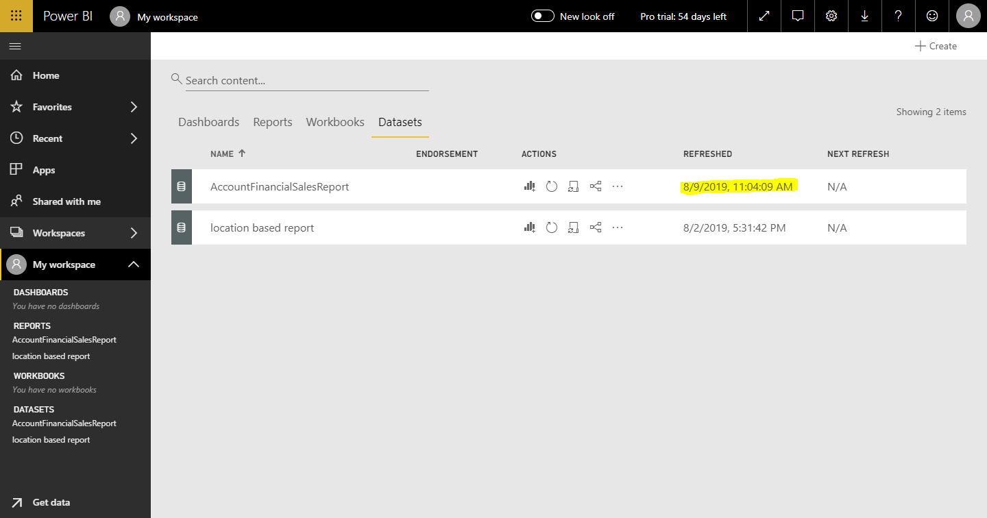Refresh Power BI Dataset programmatically