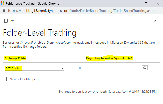 How to Track the BCC emails in Dynamics 365 CRM