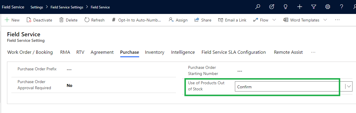 Work Order Product in Dynamics 365 CRM