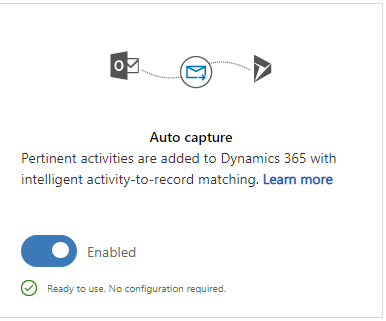 Auto Capturing Emails In Dynamics 365