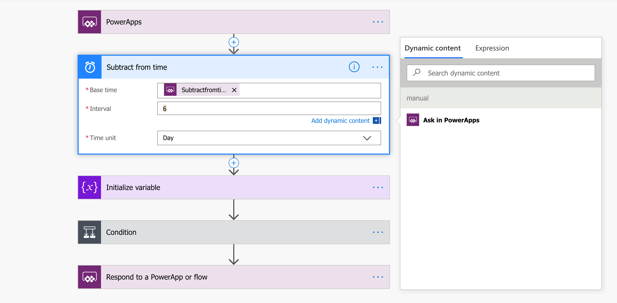 Interacting with Power Automate Flows