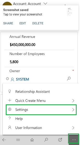 Dynamics 365 Mobile App Using Client APIs