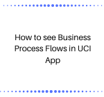 How to see Business Process Flows in UCI App