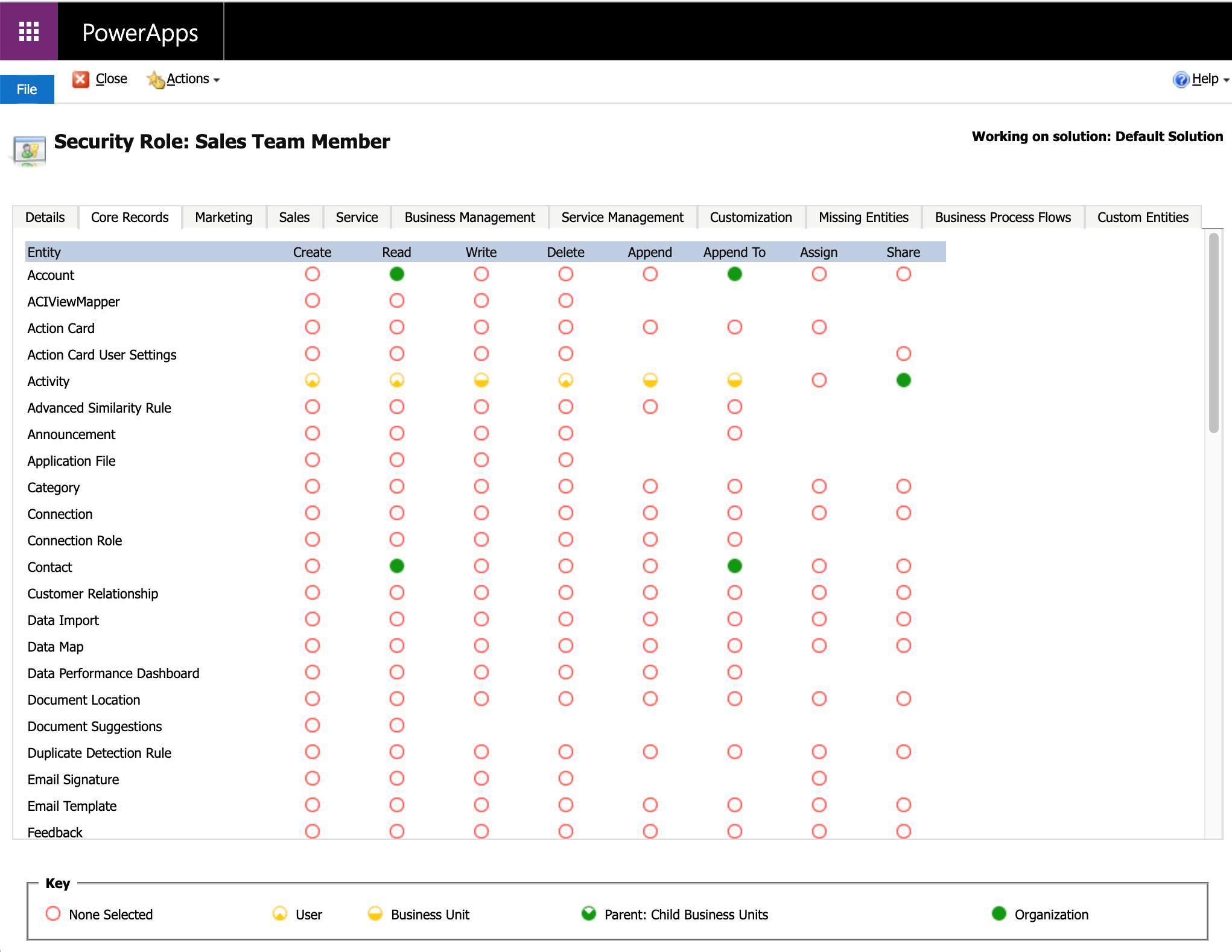 Sales Team Member App shows up in Dynamics 365 CRM