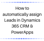 CRM PowerApps