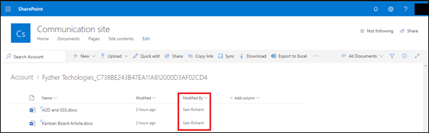 SharePoint Document Security – Track users performing actions on Dynamics 365 CRM attachments in SharePoint