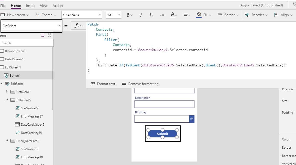 Set Null Value To Date Field In Dynamics 365 Crm Using Powerapps Microsoft Dynamics 365 Crm Tips And Tricks