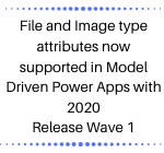 File and Image type attributes now supported in Model Driven Power Apps with 2020 Release Wave 1