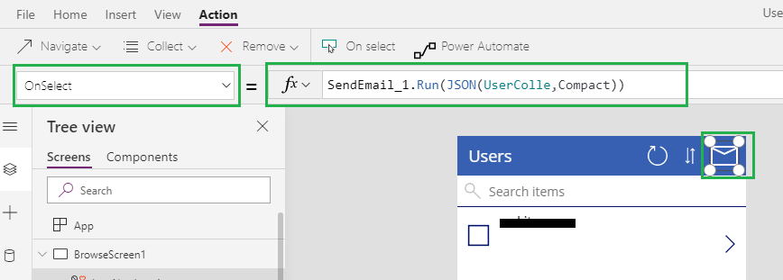 Power Automate using Json Function