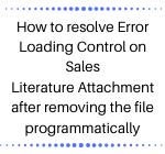 Error loading control