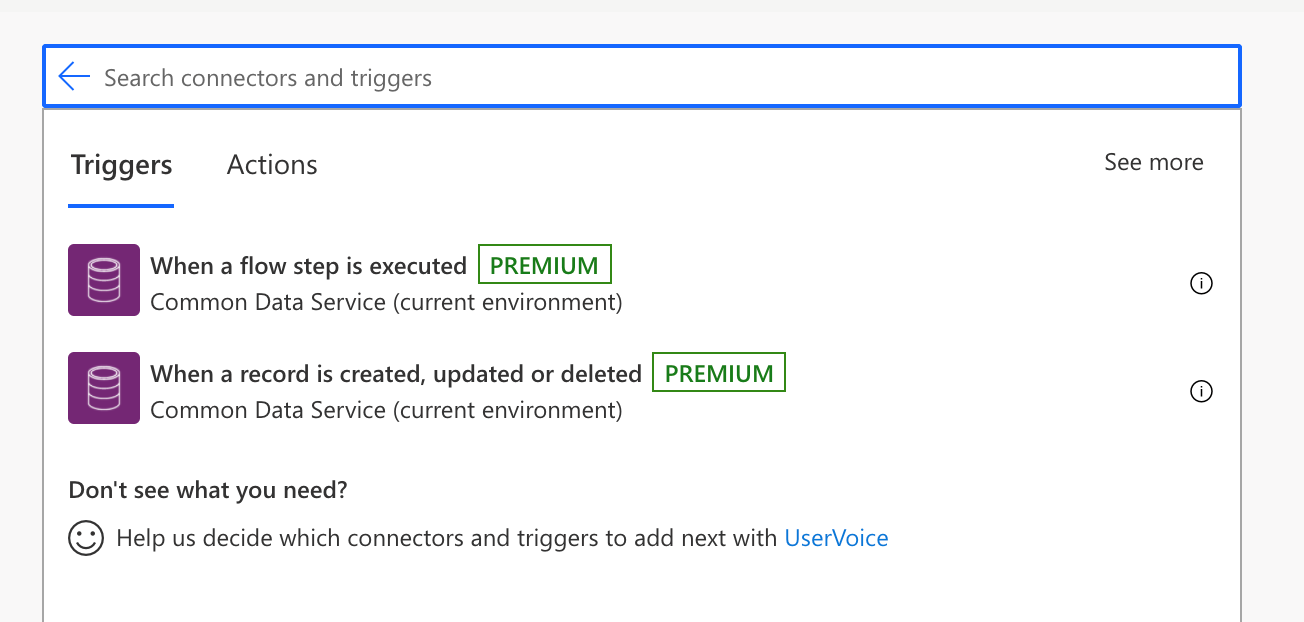 Microsoft Power Automate Flow Trigger Conditions