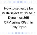Multi-Select attribute