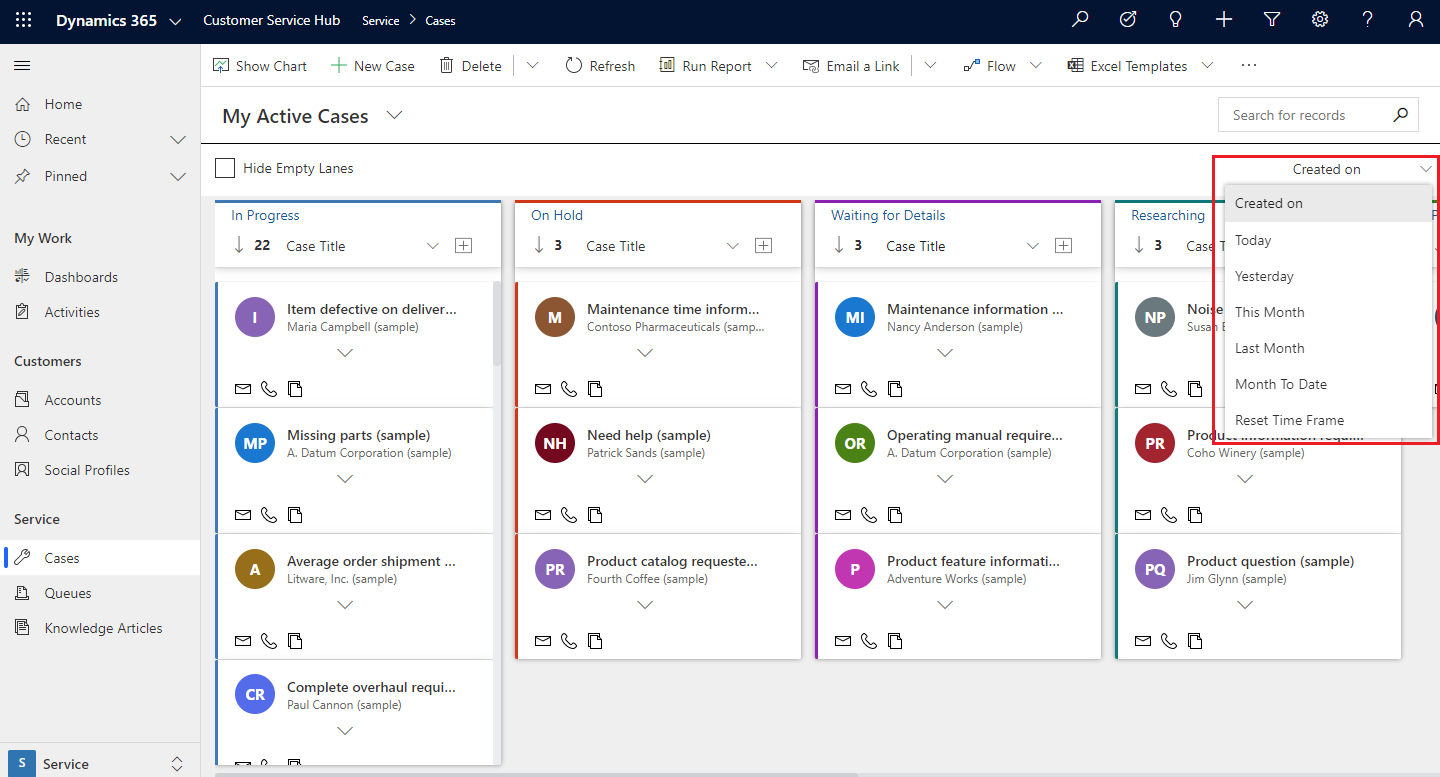 Kanban View within Dynamics 365 CRM