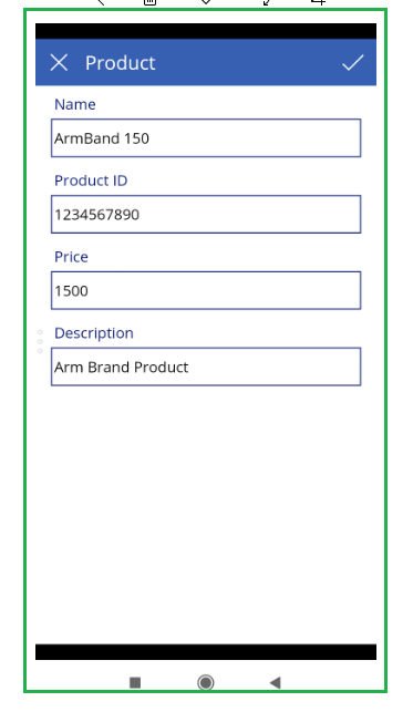 Barcode Scanned value in Canvas App