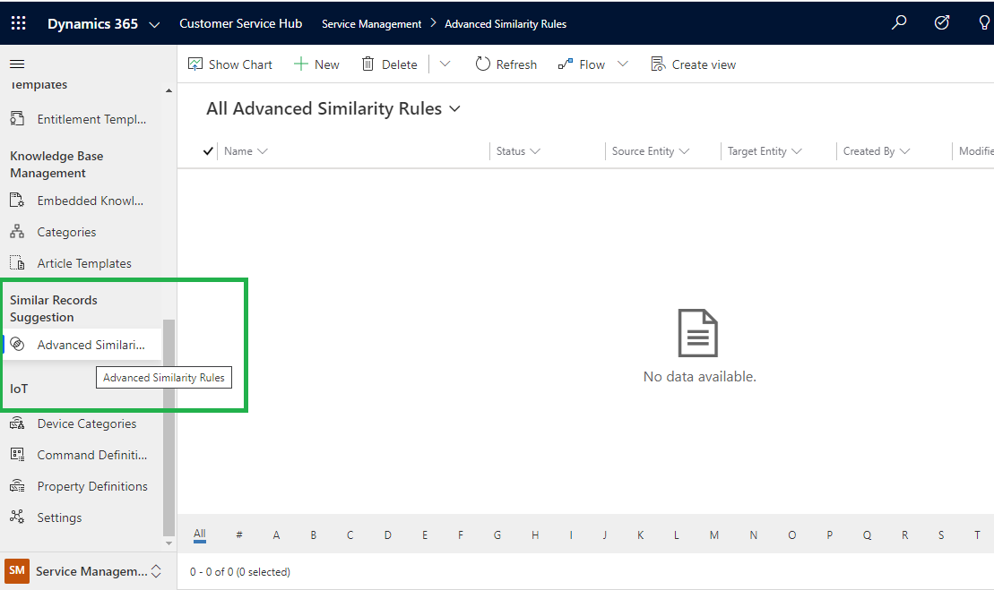 Advanced Similarity Rules to view similar case suggestions