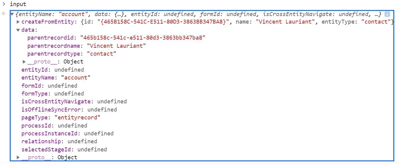 Get Parent Record Id Using D365 Client API