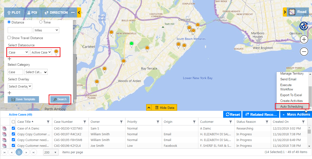 Auto Scheduling, Optimized Routes, Check In-Out, Proximity search et al - One Stop Field Service Solution within Dynamics 365 CRM!