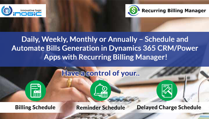 Recurring billing manager header