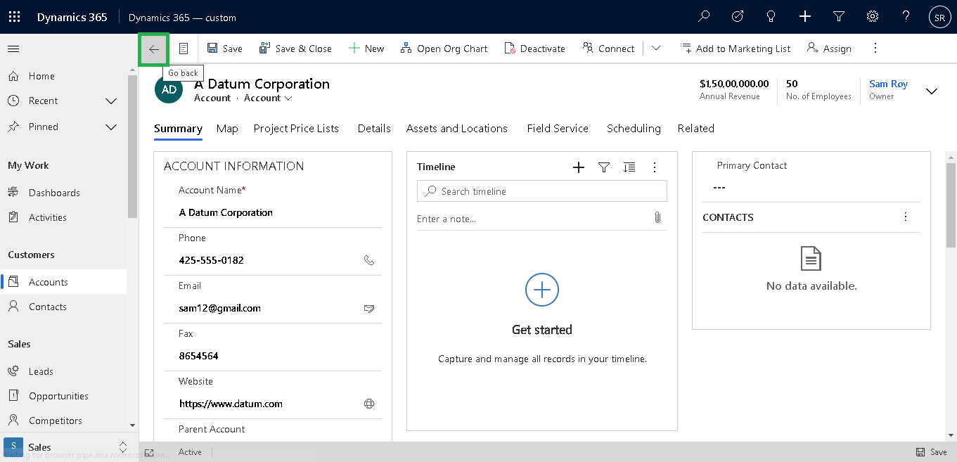 Changes in Dynamics 365 - 2020 Release Wave 2