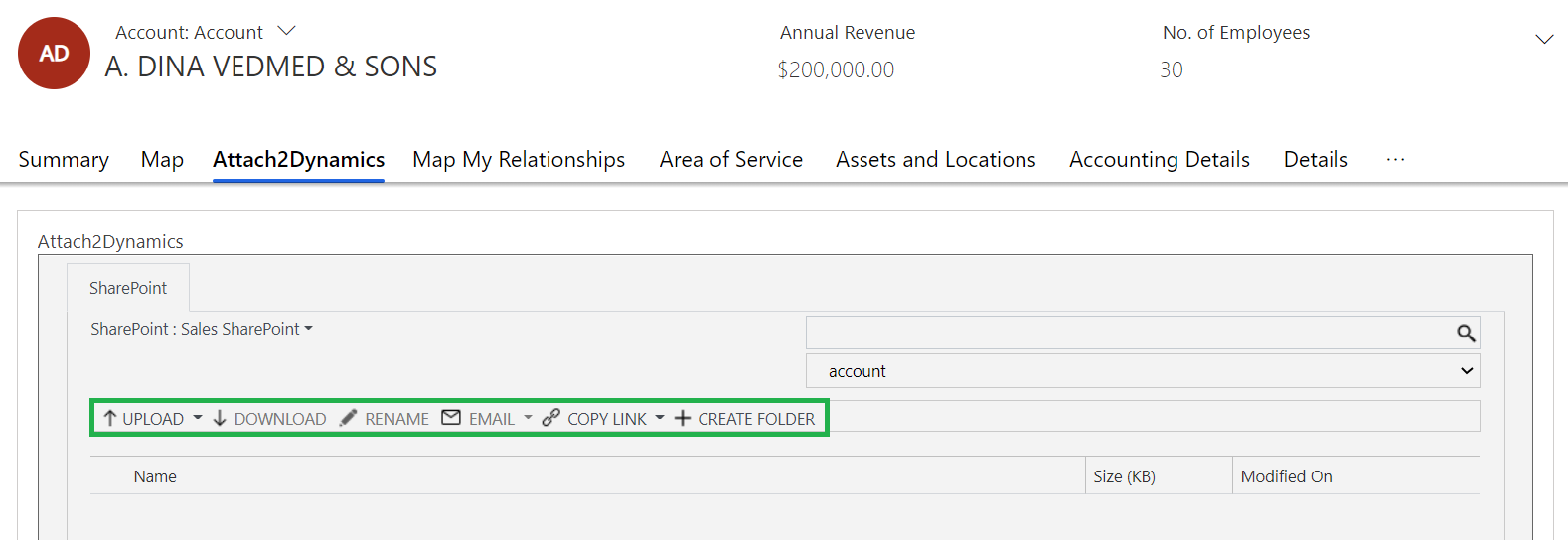 Looking for a smart option to manage documents and disk space within Dynamics 365 CRM?