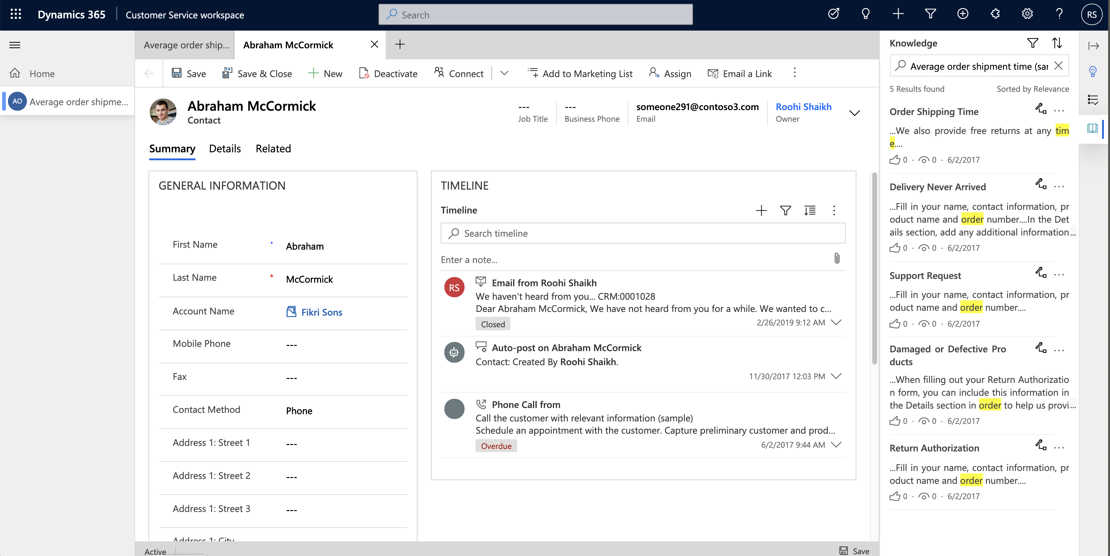 Multi-Session Customer Service workspace app now available with 2020 Release Wave 2