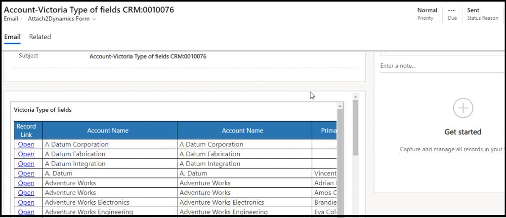 export dynamics 365 crm views data