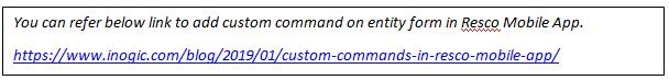 add custom command