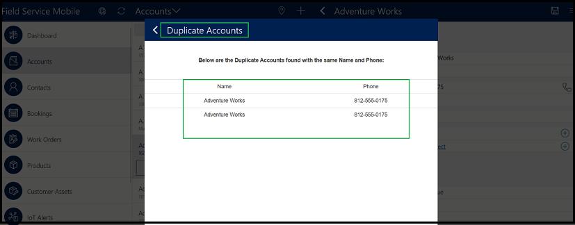 duplicate accounts