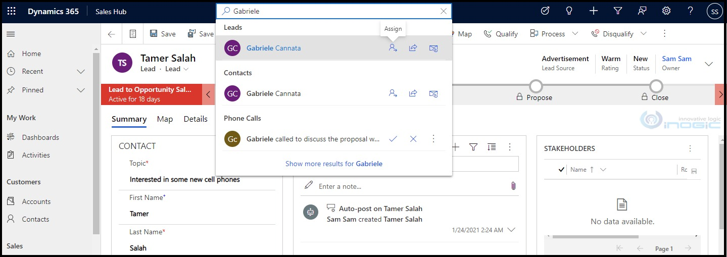 Enhancement in Relevance Search in Dynamics 365 CRM