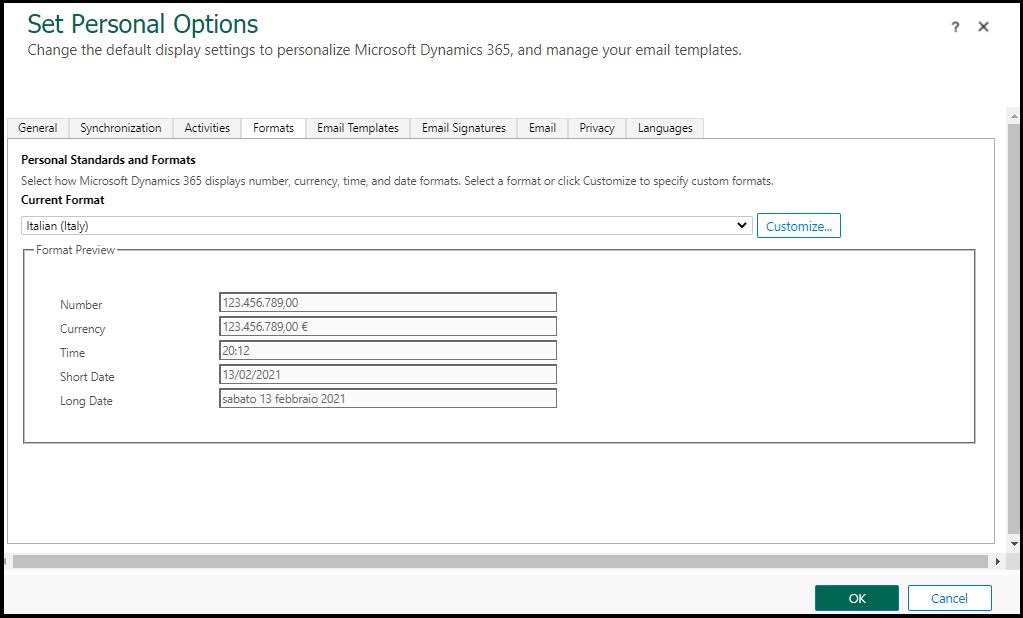 Formatting API in PCF Control