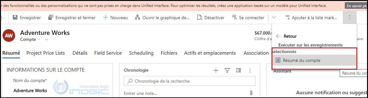 CRM report does not display in different language