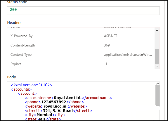Parse XML in Power Automate and Create records