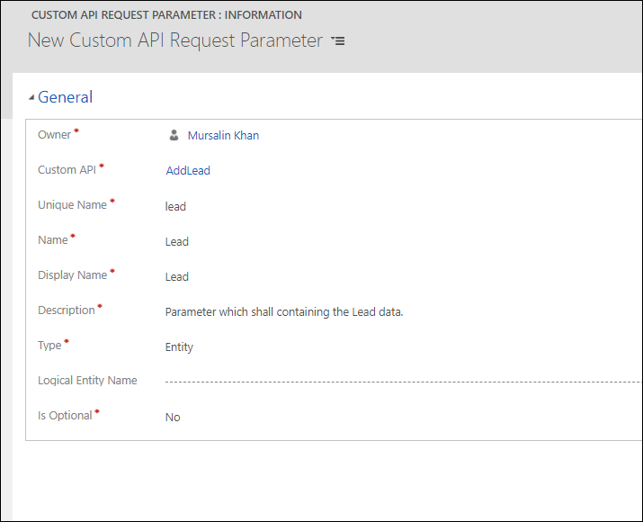 creating Custom Actions in Dataverse