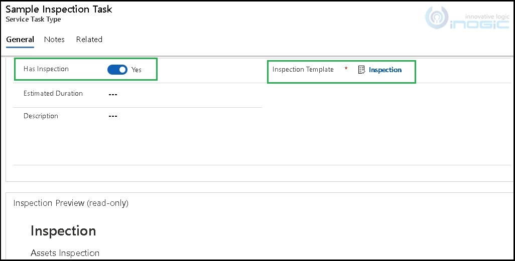 Matrix (Dynamic) Component within Inspections for Dynamics 365 Field Service
