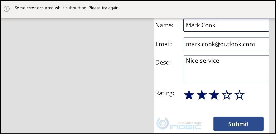 Error Handling in Canvas Apps Power Apps