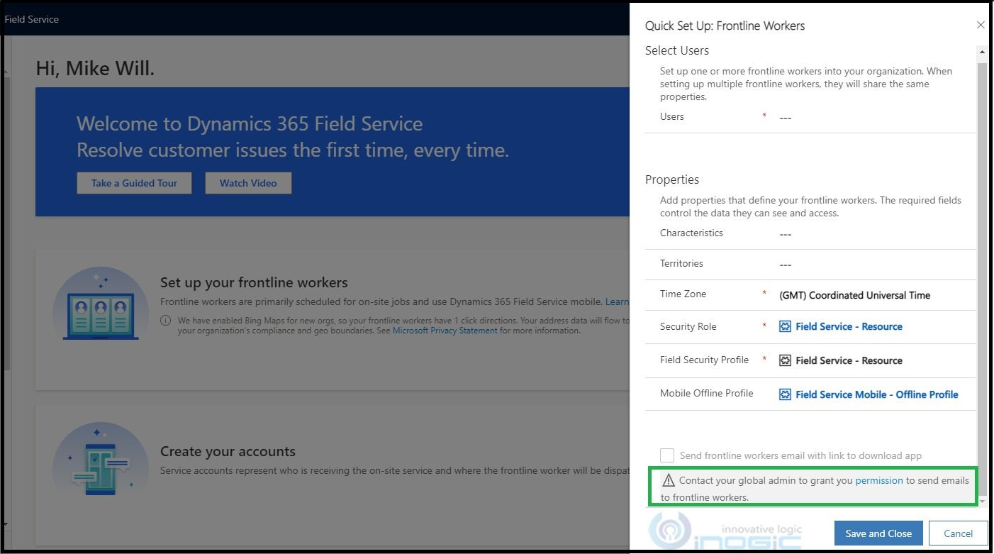 Simplify Dynamics 365 Field Service setups with 2021 release wave 1