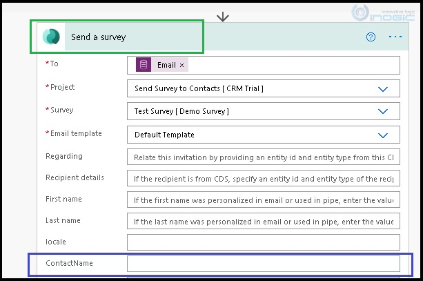 create and use variables in Dynamics Customer Voice