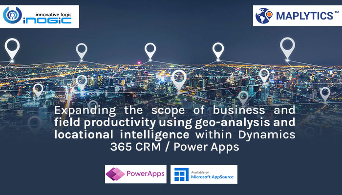 Expanding scope of business and field productivity using geo-analysis