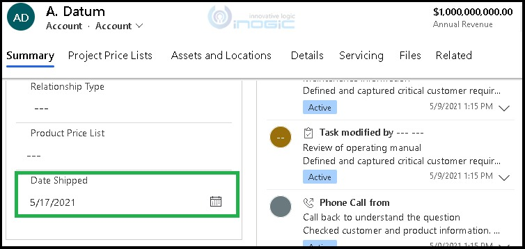 Show or Hide Time Part of Date Time Column using client Api