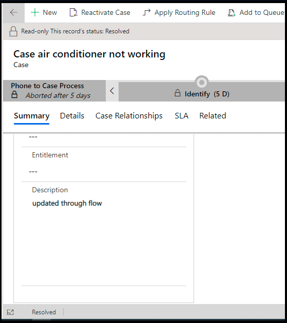 Update Resolved and Cancelled Cases in Dynamics 365 CRM Programmatically