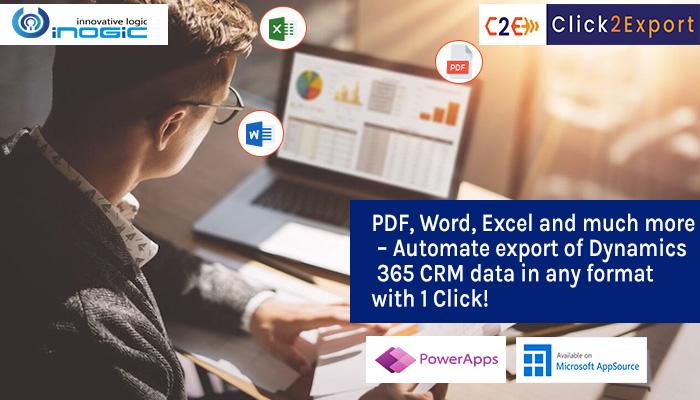 export dynamics 365 crm data