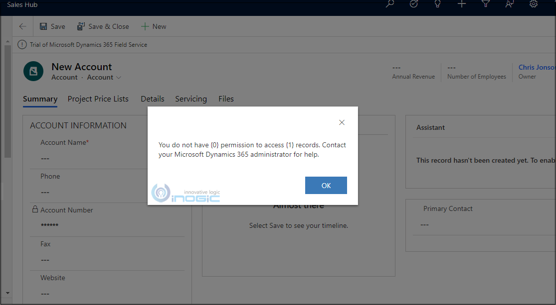 How to Identify missing permissions