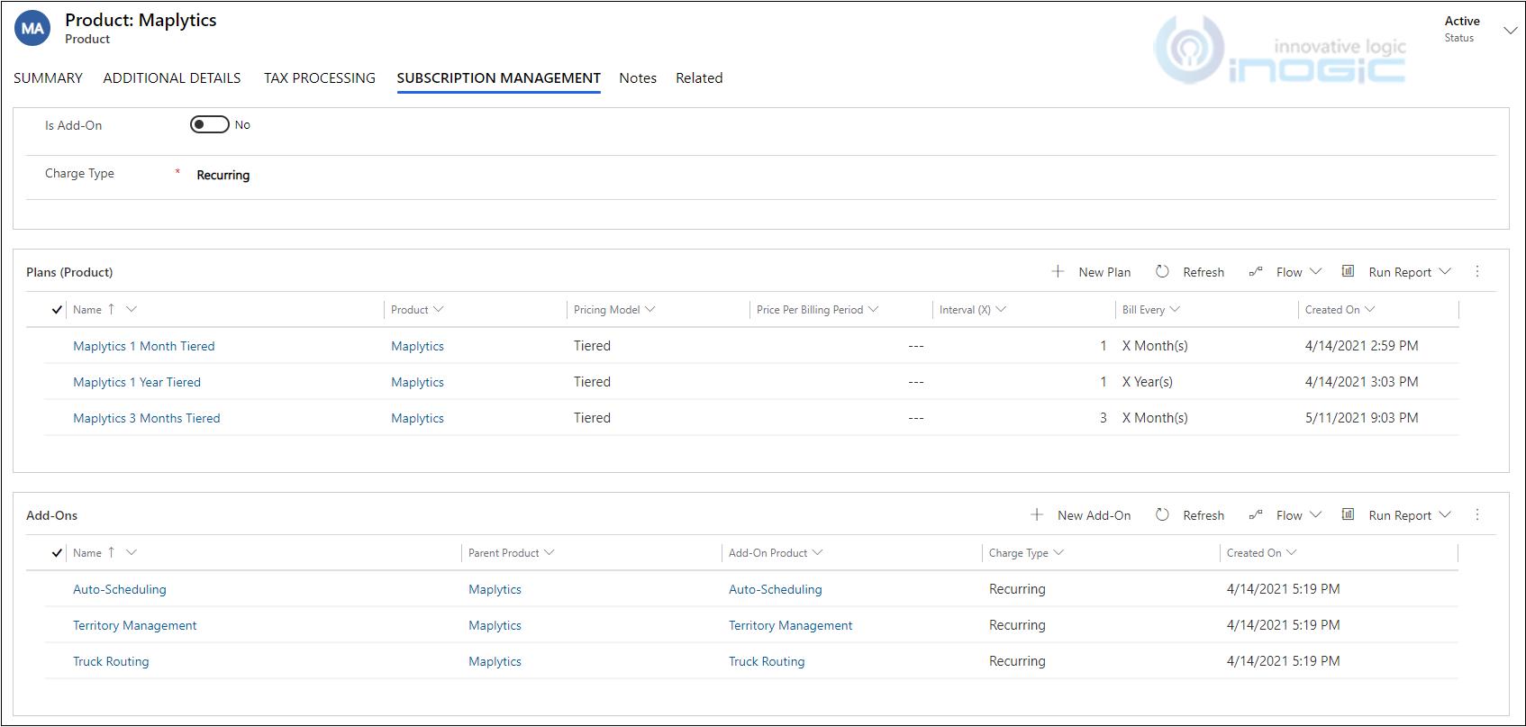 New Subscription Management App