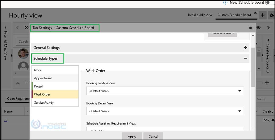 Customize Booking Template
