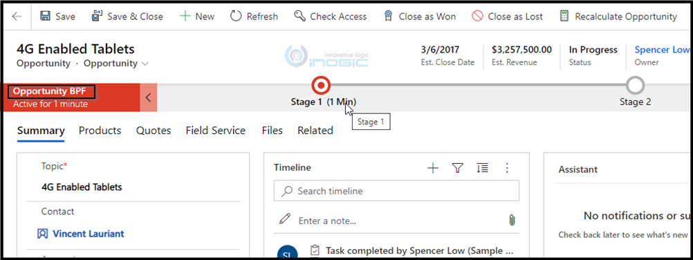 Enhancement in Microsoft Dynamics 365