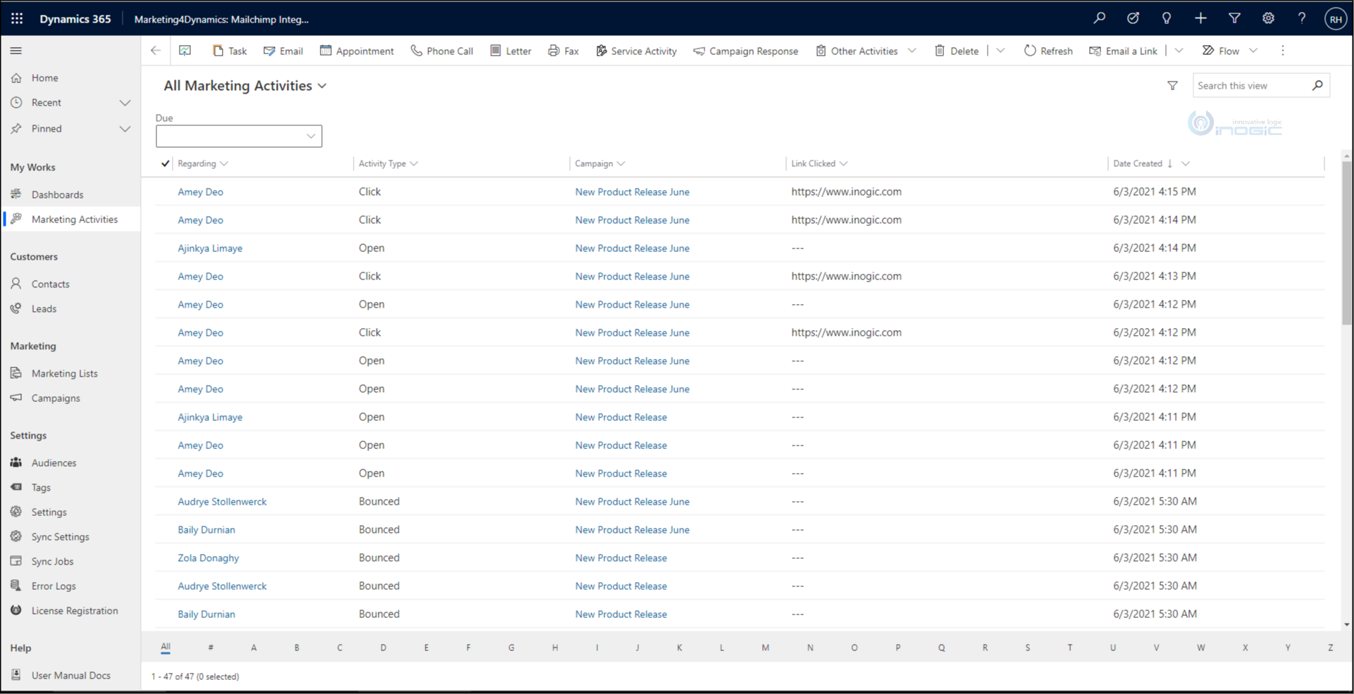 Mailchimp and Dynamics 365 CRM Integration - Get the best of both worlds with our new upcoming Marketing4Dynamics app!